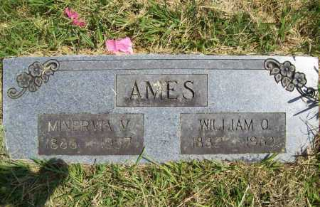 AMES, WILLIAM O. - Benton County, Arkansas | WILLIAM O. AMES - Arkansas Gravestone Photos