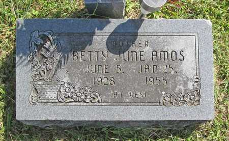 AMOS, BETTY JUNE - Benton County, Arkansas | BETTY JUNE AMOS - Arkansas Gravestone Photos