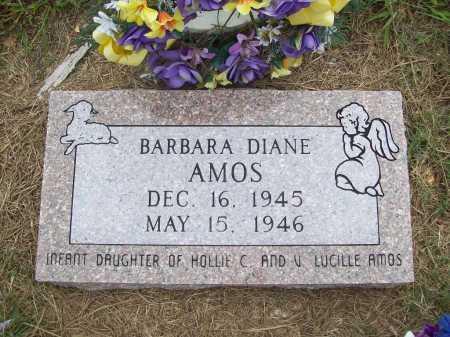 AMOS, BARBARA DIANE - Benton County, Arkansas | BARBARA DIANE AMOS - Arkansas Gravestone Photos