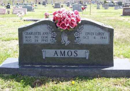 AMOS, CHARLOTTE ANN - Benton County, Arkansas | CHARLOTTE ANN AMOS - Arkansas Gravestone Photos