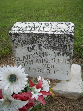 AMOS, GLADYS - Benton County, Arkansas | GLADYS AMOS - Arkansas Gravestone Photos