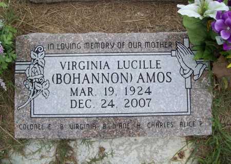 AMOS, VIRGINIA LUCILLE - Benton County, Arkansas | VIRGINIA LUCILLE AMOS - Arkansas Gravestone Photos