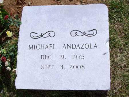 ANDAZOLA, MICHAEL G - Benton County, Arkansas | MICHAEL G ANDAZOLA - Arkansas Gravestone Photos