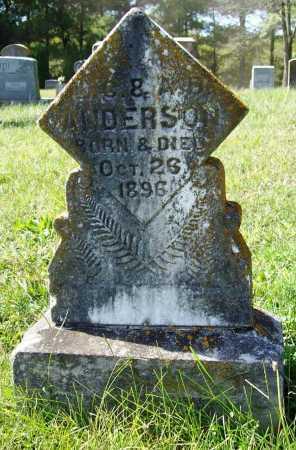 ANDERSON, BABY SON - Benton County, Arkansas | BABY SON ANDERSON - Arkansas Gravestone Photos