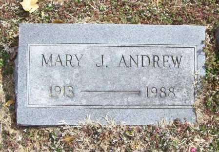 ANDREW, MARY J. - Benton County, Arkansas | MARY J. ANDREW - Arkansas Gravestone Photos