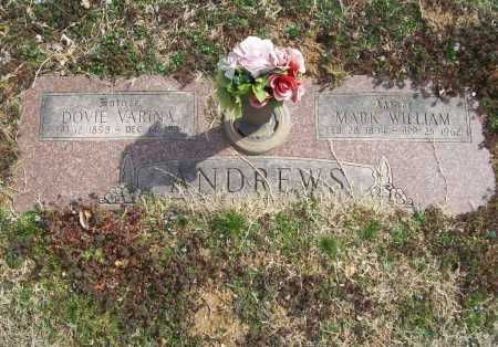 VANN ANDREWS, DOVIE VARINE - Benton County, Arkansas | DOVIE VARINE VANN ANDREWS - Arkansas Gravestone Photos