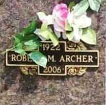 ARCHER, ROBERT M. - Benton County, Arkansas | ROBERT M. ARCHER - Arkansas Gravestone Photos