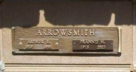 ARROWSMITH, ARTHUR E. - Benton County, Arkansas   ARTHUR E. ARROWSMITH - Arkansas Gravestone Photos