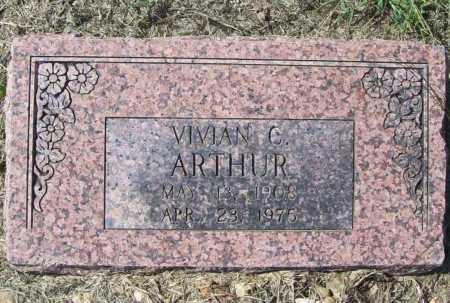 CARTER ARTHUR, VIVIAN - Benton County, Arkansas | VIVIAN CARTER ARTHUR - Arkansas Gravestone Photos
