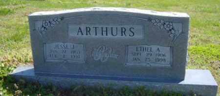 WILLIAMSON ARTHURS, ETHEL A. - Benton County, Arkansas | ETHEL A. WILLIAMSON ARTHURS - Arkansas Gravestone Photos