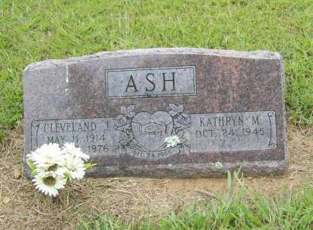 ASH, CLEVELAND JENNINGS - Benton County, Arkansas | CLEVELAND JENNINGS ASH - Arkansas Gravestone Photos