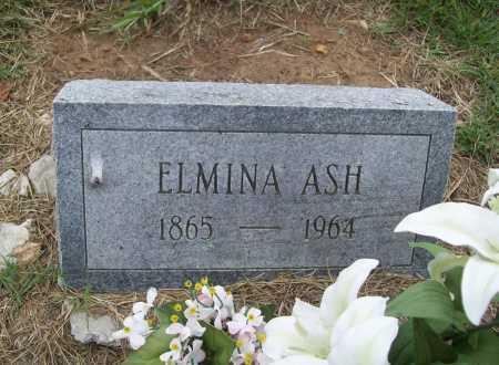 ASH, ELMINA - Benton County, Arkansas | ELMINA ASH - Arkansas Gravestone Photos