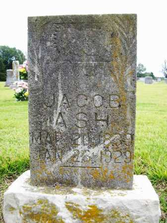 ASH, JACOB - Benton County, Arkansas   JACOB ASH - Arkansas Gravestone Photos