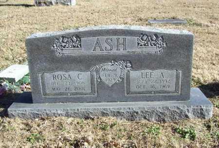 ASH, LEE A. - Benton County, Arkansas | LEE A. ASH - Arkansas Gravestone Photos