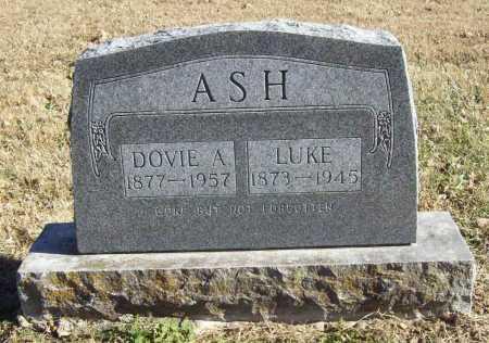 ASH, DOVIE A. - Benton County, Arkansas   DOVIE A. ASH - Arkansas Gravestone Photos