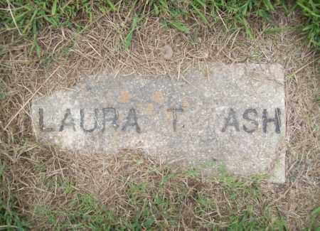ASH, LAURA T. - Benton County, Arkansas | LAURA T. ASH - Arkansas Gravestone Photos