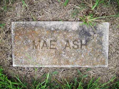 ASH, MAE - Benton County, Arkansas | MAE ASH - Arkansas Gravestone Photos
