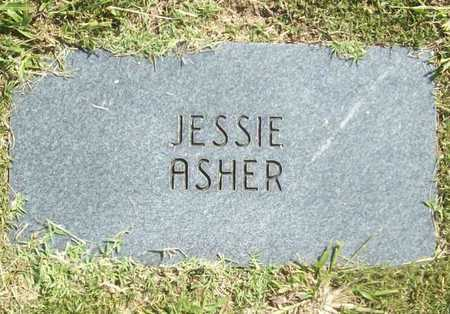 ASHER, JESSIE - Benton County, Arkansas | JESSIE ASHER - Arkansas Gravestone Photos