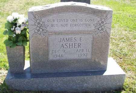 ASHER, JAMES E. - Benton County, Arkansas | JAMES E. ASHER - Arkansas Gravestone Photos