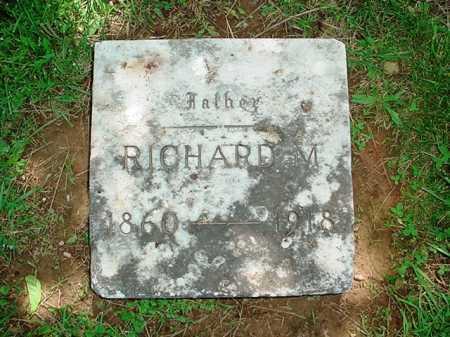 ATKINSON, RICHARD M - Benton County, Arkansas | RICHARD M ATKINSON - Arkansas Gravestone Photos