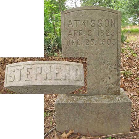ATKISSON, STEPHEN D - Benton County, Arkansas | STEPHEN D ATKISSON - Arkansas Gravestone Photos
