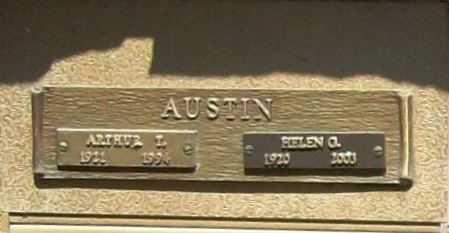 AUSTIN, HELEN G. - Benton County, Arkansas   HELEN G. AUSTIN - Arkansas Gravestone Photos