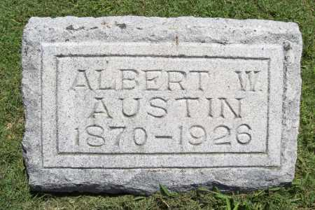 AUSTIN, ALBERT W. - Benton County, Arkansas | ALBERT W. AUSTIN - Arkansas Gravestone Photos