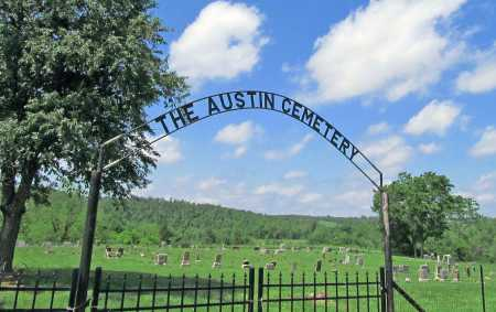 *AUSTIN CEMETERY GATE,  - Benton County, Arkansas |  *AUSTIN CEMETERY GATE - Arkansas Gravestone Photos