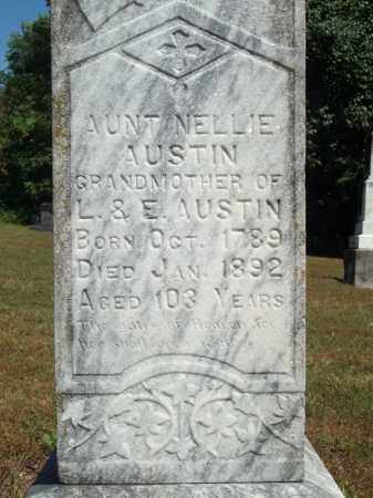 AUSTIN, NELLIE (CLOSEUP) - Benton County, Arkansas | NELLIE (CLOSEUP) AUSTIN - Arkansas Gravestone Photos