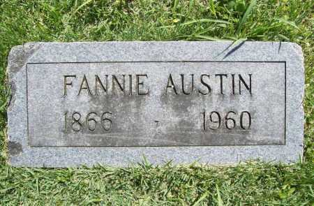 "HENDREN AUSTIN, FRANCES PAULINE ""FANNIE"" - Benton County, Arkansas | FRANCES PAULINE ""FANNIE"" HENDREN AUSTIN - Arkansas Gravestone Photos"