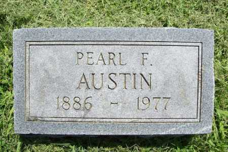 AUSTIN, PEARL F. - Benton County, Arkansas | PEARL F. AUSTIN - Arkansas Gravestone Photos