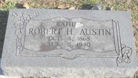 AUSTIN, ROBERT H. - Benton County, Arkansas   ROBERT H. AUSTIN - Arkansas Gravestone Photos