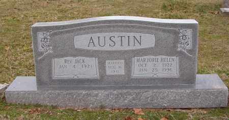AUSTIN, MARJORIE HELEN - Benton County, Arkansas | MARJORIE HELEN AUSTIN - Arkansas Gravestone Photos