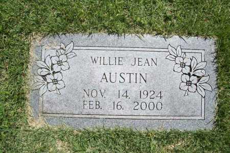 AUSTIN, WILLIE JEAN - Benton County, Arkansas | WILLIE JEAN AUSTIN - Arkansas Gravestone Photos