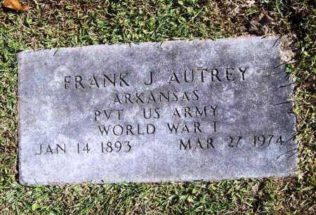 AUTREY (VETERAN WWI), FRANK JAMES - Benton County, Arkansas   FRANK JAMES AUTREY (VETERAN WWI) - Arkansas Gravestone Photos