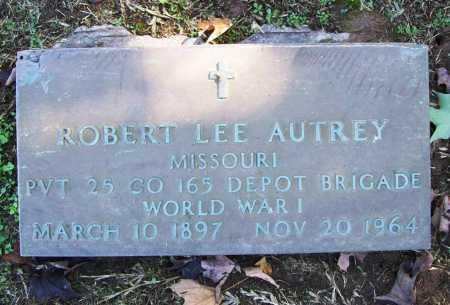AUTREY (VETERAN WWI), ROBERT LEE - Benton County, Arkansas | ROBERT LEE AUTREY (VETERAN WWI) - Arkansas Gravestone Photos