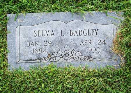 BADGLEY, SELMA L. - Benton County, Arkansas | SELMA L. BADGLEY - Arkansas Gravestone Photos