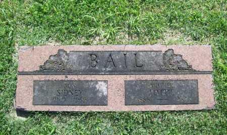 BAIL, SIDNEY - Benton County, Arkansas | SIDNEY BAIL - Arkansas Gravestone Photos