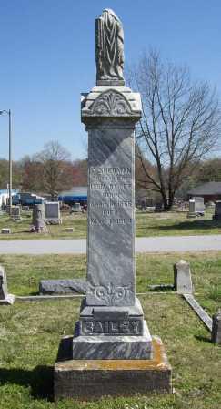 BAILEY, D. SHERMAN - Benton County, Arkansas | D. SHERMAN BAILEY - Arkansas Gravestone Photos