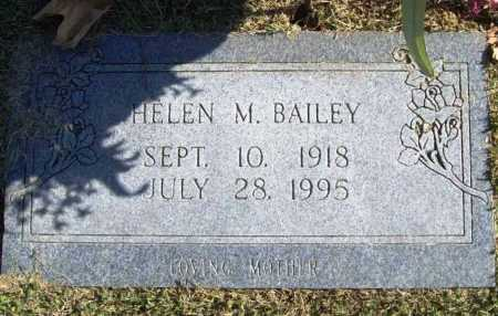 BAILEY, HELEN M. - Benton County, Arkansas | HELEN M. BAILEY - Arkansas Gravestone Photos
