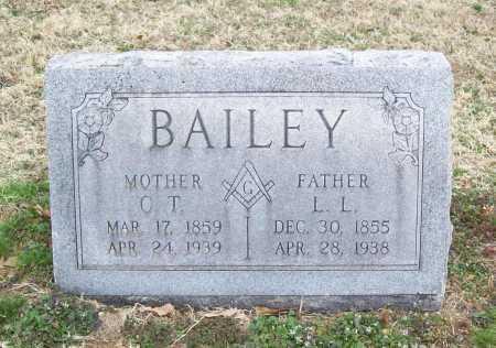 BAILEY, L. L. - Benton County, Arkansas | L. L. BAILEY - Arkansas Gravestone Photos
