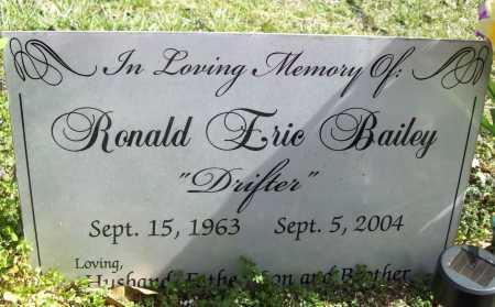 BAILEY, RONALD ERIC - Benton County, Arkansas | RONALD ERIC BAILEY - Arkansas Gravestone Photos