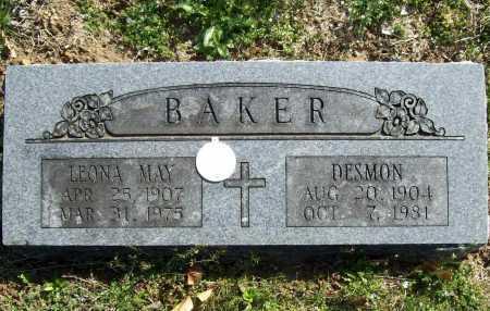 BAKER, LEONA MAY - Benton County, Arkansas | LEONA MAY BAKER - Arkansas Gravestone Photos