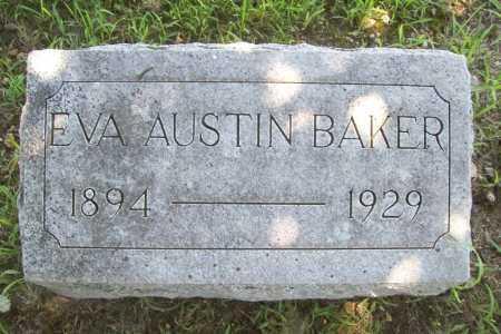 AUSTIN BAKER, EVA - Benton County, Arkansas | EVA AUSTIN BAKER - Arkansas Gravestone Photos