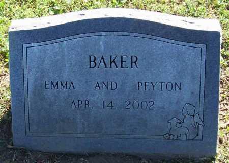 BAKER, PEYTON - Benton County, Arkansas | PEYTON BAKER - Arkansas Gravestone Photos