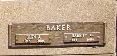 BAKER (VETERAN WWII), GLEN ALMAS - Benton County, Arkansas | GLEN ALMAS BAKER (VETERAN WWII) - Arkansas Gravestone Photos
