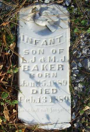 BAKER, INFANT SON - Benton County, Arkansas | INFANT SON BAKER - Arkansas Gravestone Photos