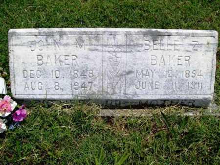 BAKER, JOHN M. - Benton County, Arkansas   JOHN M. BAKER - Arkansas Gravestone Photos
