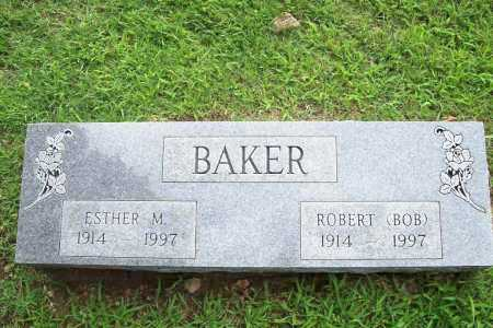 BAKER, ESTHER M. - Benton County, Arkansas | ESTHER M. BAKER - Arkansas Gravestone Photos