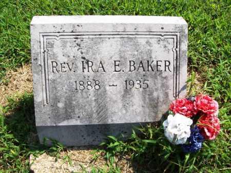 BAKER, IRA E - Benton County, Arkansas | IRA E BAKER - Arkansas Gravestone Photos